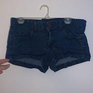 Low Rise Mini Shorts